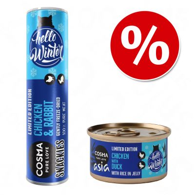 Winter-Mix Cosma Asia & Cosma Snackies