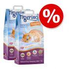 Żwirek miesiąca: 2 x 14 l Tigerino Nuggies, żwirek dla kota w super cenie!