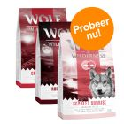 Wolf of Wilderness - Gemengd Probeerpakket 3 x 1 kg