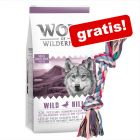 Wolf of Wilderness: 12 kg tørrfôr + leketau gratis!