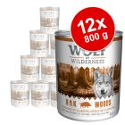 Wolf of Wilderness 12 x 800 g - Pack económico
