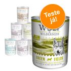 Wolf of Wilderness 6 x 400 g/800 g - Pack de experimentação