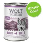 Wolf of Wilderness 1 x 400 g pour chien
