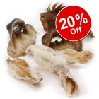 Wolf of Wilderness Dried Ears Dog Chews - 20% Off!*