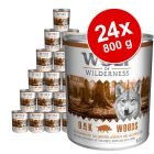 Wolf of Wilderness -megapakkaus 24 x 800 g