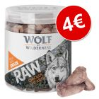Wolf of Wilderness RAW snacks liofilizados premium ¡por solo 4 €!