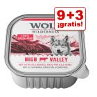 Wolf of Wilderness tarrinas 12 x 300 g en oferta: 9 + 3 ¡gratis!