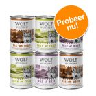 Wolf of Wilderness The Taste Of - Gemengd Pakket 6 x 400 g