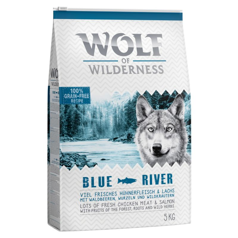 "Wolf of Wilderness Adult ""Blue River"" - Laks"