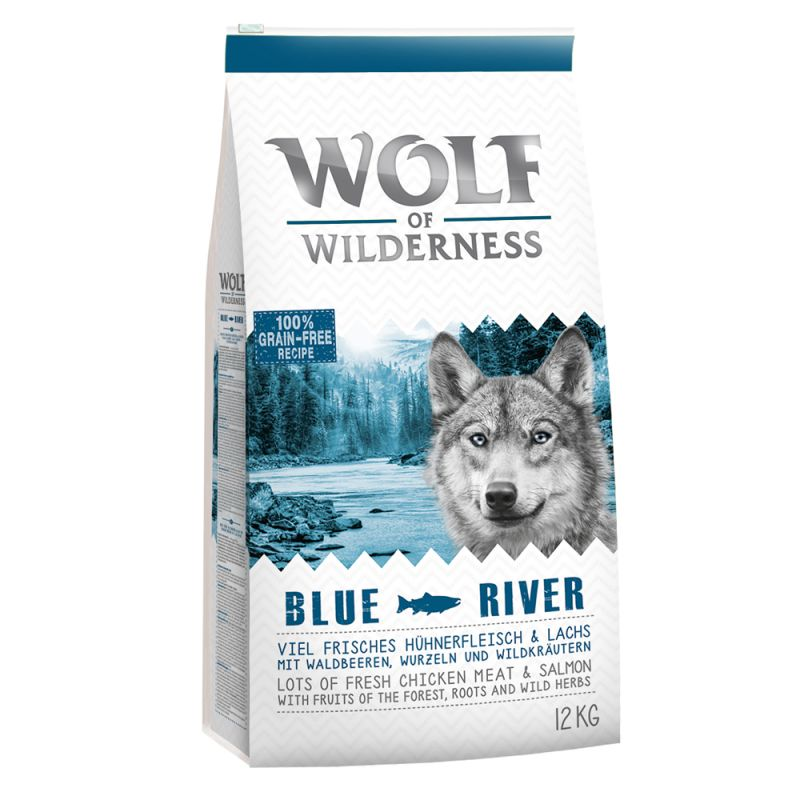 "Wolf of Wilderness Adult ""Blue River"" - Salmon"