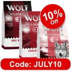 """Wolf of Wilderness Adult Classic """"Red"""" Trial Pack 3 x 1kg"""