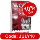 "Wolf of Wilderness Adult ""Crimson Sunset"" - Lamb & Goat"