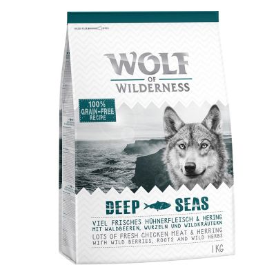 Wolf of Wilderness Adult Deep Seas, hareng pour chien