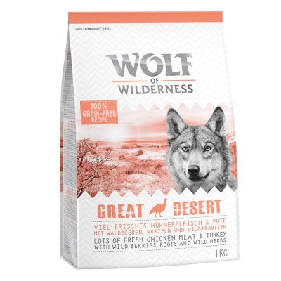 Wolf of Wilderness Adult 'Great Desert' Hondenvoer - Kalkoen