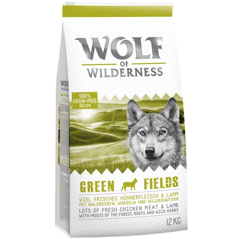 "Wolf of Wilderness Adult ""Green Fields"" - Αρνί"