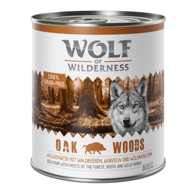 Wolf of Wilderness Adult - míchané balení
