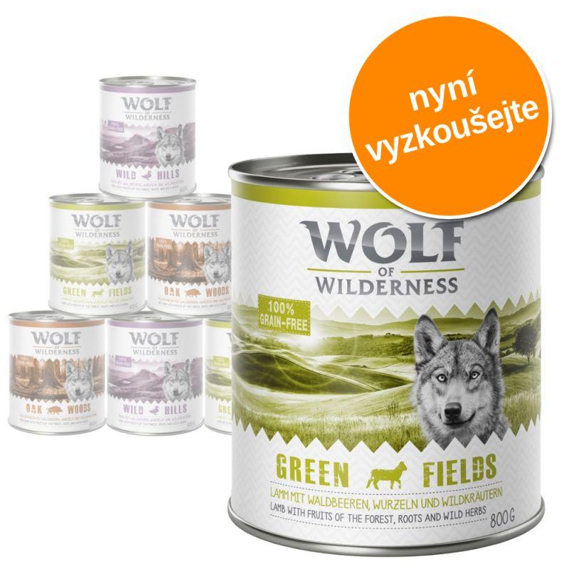Wolf of Wilderness Adult - míchané balení