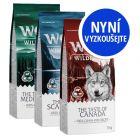 """Wolf of Wilderness Adult míchané balení """"The Taste Of"""" 3 x 1 kg"""