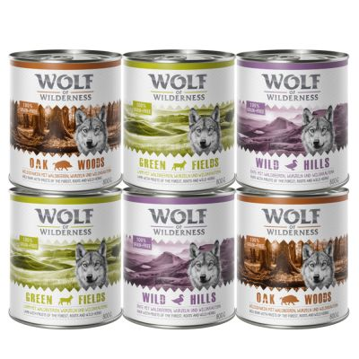 Wolf of Wilderness Adult Mixed Pack
