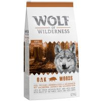 Wolf of Wilderness Adult Oak Woods, sanglier pour chien