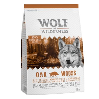 Wolf of Wilderness Adult Oak Woods - villisika