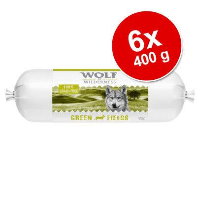 Wolf of Wilderness Adult Rotolo di carne 6 x 400 g