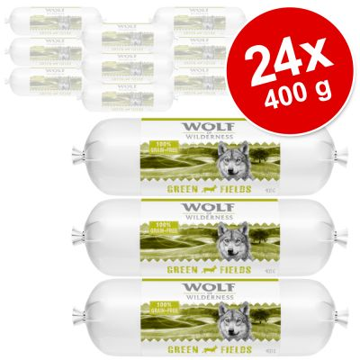Wolf of Wilderness Adult Rotolo di carne 24 x 400 g