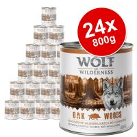 Wolf of Wilderness Adult Saver Pack 24 x 800g