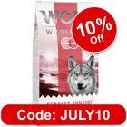 "Wolf of Wilderness Adult ""Scarlet Sunrise"" - Salmon & Tuna"