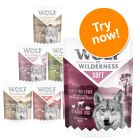 "Wolf of Wilderness Adult ""Soft"" Pouches Mixed Pack"