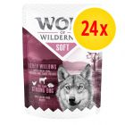 "Wolf of Wilderness Adult ""Soft"" Pouches Multibuy 24 x 300g"