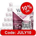 """Wolf of Wilderness Adult """"Soft"""" Pouches Saver Pack 24 x 300g"""