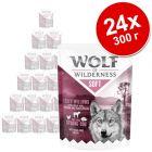 "Экономупаковка Wolf of Wilderness Adult ""Soft & Strong"" 24 x 300 г"