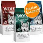"Wolf of Wilderness Adult ""The Taste Of"" - Μεικτό Πακέτο"