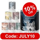 """Wolf of Wilderness Adult """"The Taste of"""" Mixed Pack"""