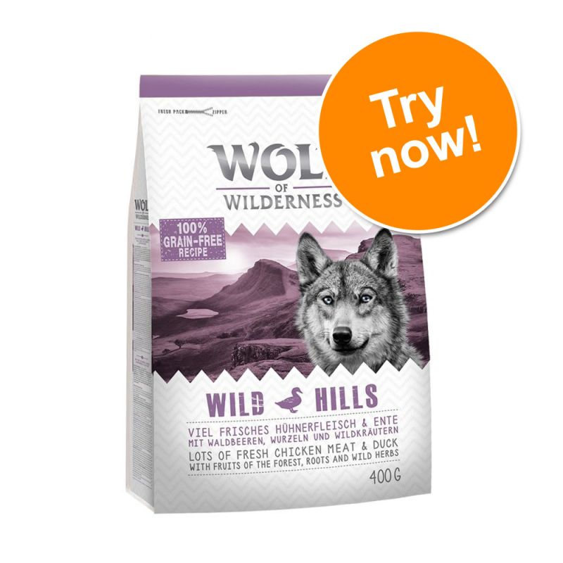 Wolf of Wilderness Adult Trial Pack