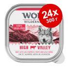 Экономупаковка Wolf of Wilderness Adult 24 x 300 г