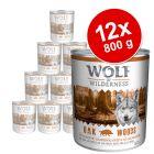 Πακέτο προσφοράς: Wolf of Wilderness Adult 12 x 800 g