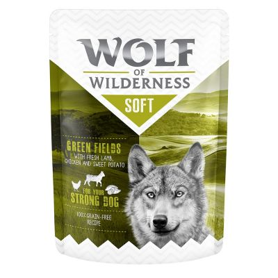 Wolf of Wilderness Adult 6 x 300 g - Pouch