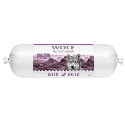 Wolf of Wilderness Adult 6 x 400 g - Salsicha