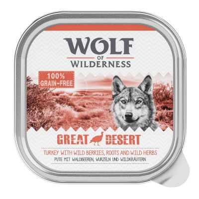 Wolf of Wilderness Adult 24 x 300 g Voordeelpakket