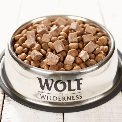 Wolf of Wilderness Adult 6 x 400 g - Worst Hondenvoer
