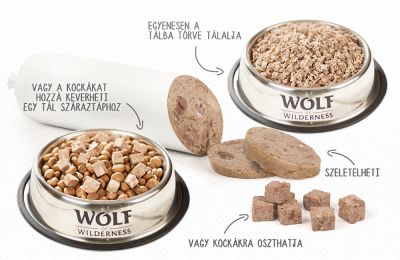 Wolf of Wilderness Adult 6 x 400 g - Wurst