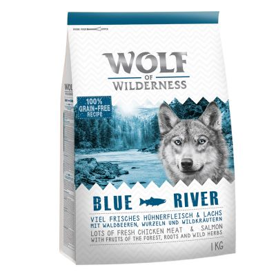 Wolf of Wilderness Blue River - Salmon