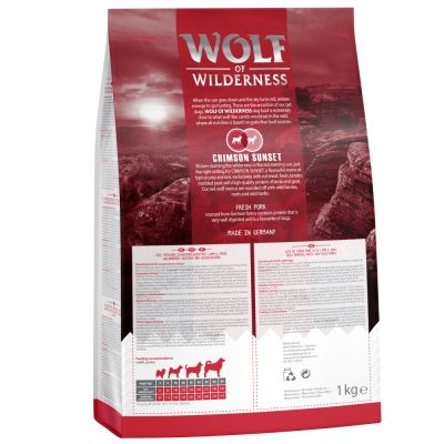 Wolf of Wilderness Crimson Sunset agneau chèvre pour chien