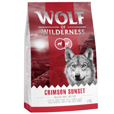 Wolf of Wilderness 'Crimson Sunset' - Lam & Geit Hondenvoer