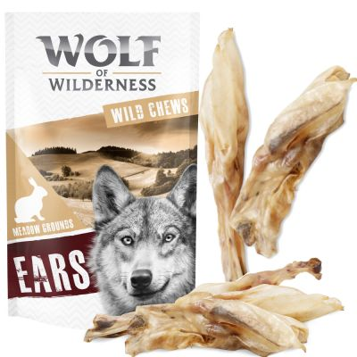 Wolf of Wilderness Dried Ears Dog Chews Saver Pack