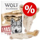Wolf of Wilderness Dried Ears Dog Chews - Special Price!*