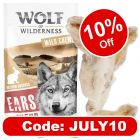Wolf of Wilderness Dried Rabbit Ears with Fur