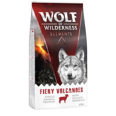 Wolf of Wilderness Elements Fiery Volcanoes, agneau pour chien